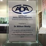Castlemaine Smiles Dentist | Dr Mithun Shetty Award | Dentist Castlemaine