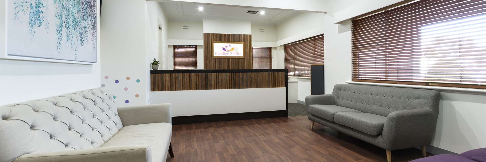 Castlemaine Smiles Dentist - Reception Area / Waiting Room